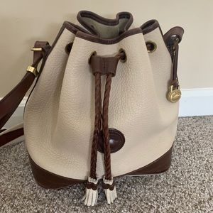 Vintage Dooney & Burke Tasha Drawstring Bag
